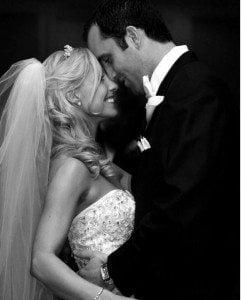 Laurie Schaub Matt Schaub wedding picture