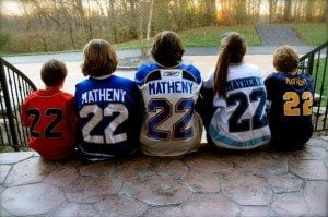 Mike Matheny family picture