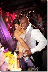 Monica Bradley Timothy Bradley wedding pic