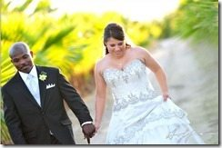 Monica Bradley Timothy Bradley wedding picture