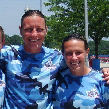 Us Soccer Player Abby Wambachs Wife Sarah Huffman Bio Wiki