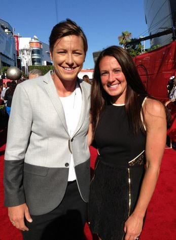 Sarah Huffman Abby Wambach wife photo