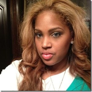 Vanity Alpough Perkins  Kendrick Perkins wife-picture