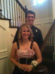 cam mcdaniel and stephani sterrett senior prom high school pic
