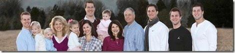 tebow-family-children