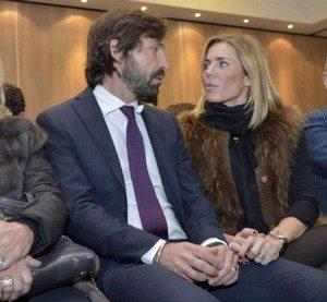Andrea-Pirlo-wife-Deborah-Roversi