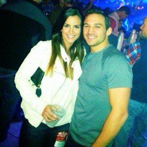 Brie willett Michael chandler girlfriend pic