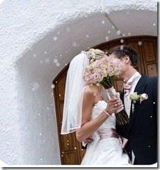 Caroline Berg Eriksen Lars-Kristian Eriksen Wedding pic