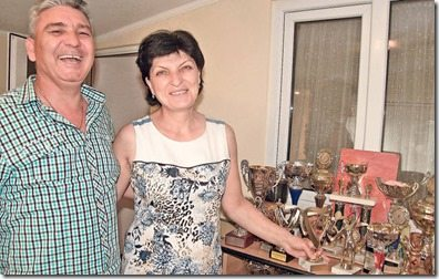 Simona Halep parents