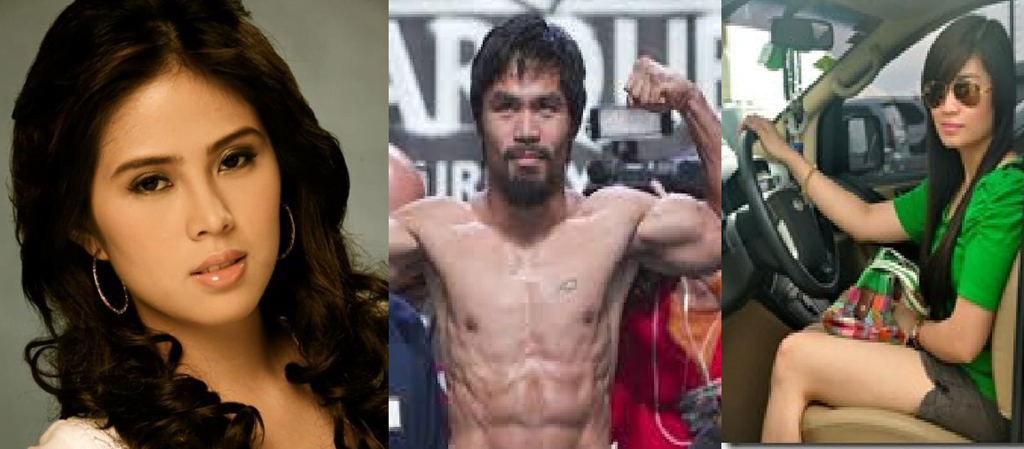 Krista Ranillo and Kat Ordonez- Boxer Manny Pacquiao's Alleged Mistresses