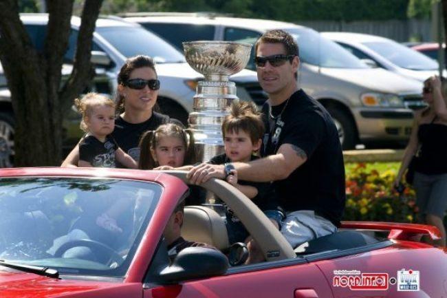 Carole-Lyne Dupuis- NHL Player Pascal Dupuis' Wife