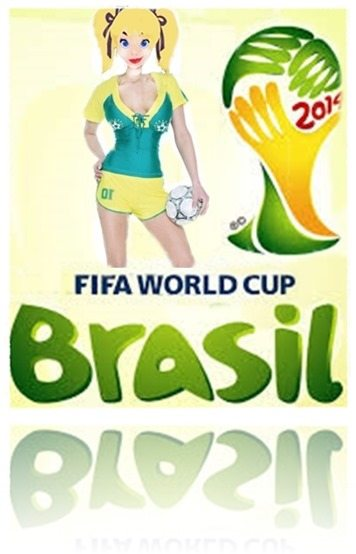 Brazil World Cup 2014 wags draw