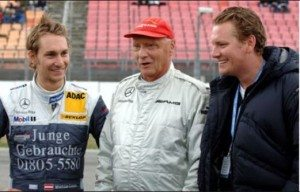 Lukas Lauda Mathias Lauda Niki Lauda son