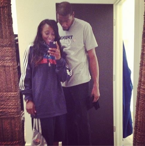 Kevin Durant And Monica Wright Engagement Ring