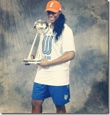 Monica Wright Kevin Durant girlfriend pic