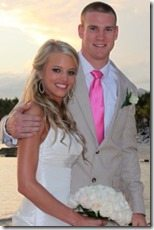 Ryan Tannehill Lauren Ufer wedding pic
