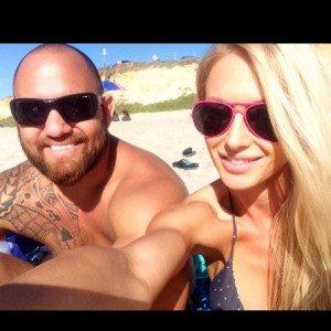 Travis Browne girlfriend jenna Renee image
