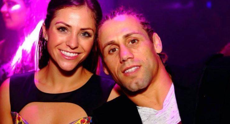 Kristi Randel MMA Fighter Urijab Faber's  Girlfriend