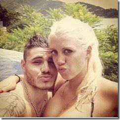 Wanda Nara boyfriend Mauro Icardi photo