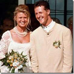 michael Schumacher Corinna Betsch wedding pic