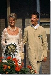 michael Schumacher Corinna Betsch wedding pics