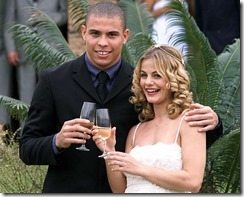 ronaldo Milene domingues wedding