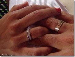 ronaldo Paula Morais engagement pic