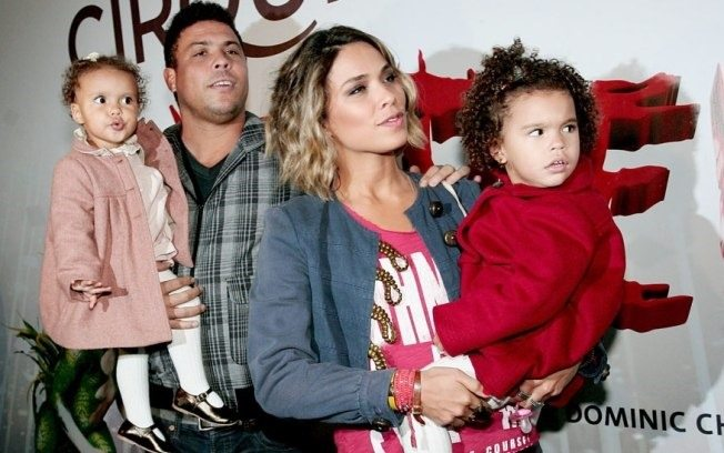 Photo of Ronaldo & his  Daughter  Maria Alice Nazário de Lima