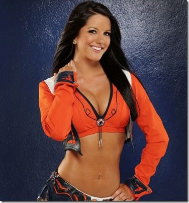 Angela Denver Broncos cheerleader