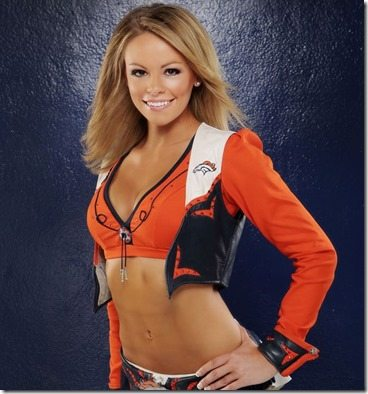 Ashley Denver Broncos Cheerleader