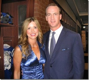 Ashley Thompson Manning Peyton Manning wife photo