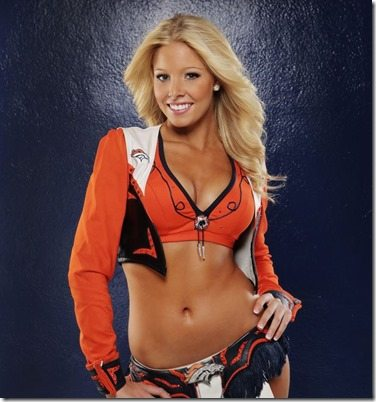 Brittany Denver Broncos Cheerleader