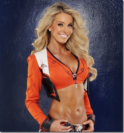 Candance Denver Broncos Cheerleader