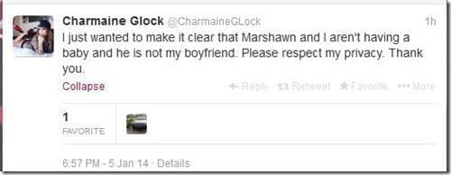 Charmaine Glock Marshawn Lynch dating