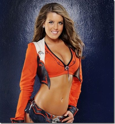Christina C Denver Broncos Cheerleader