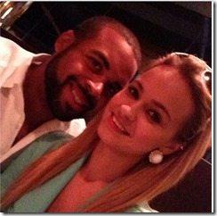 D.J Williams girlfriend-picture