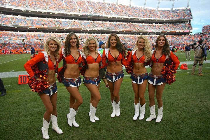 Was The broncos cheerleaders naked opinion