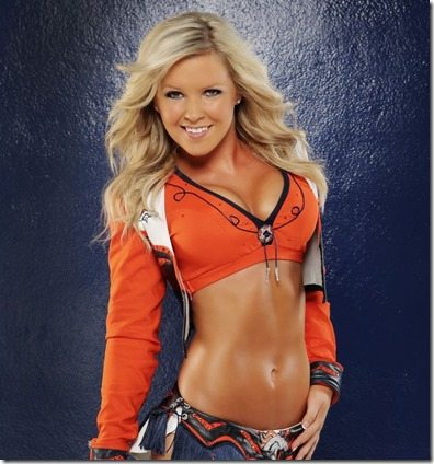 Emily G. Denver Broncos Cheerleader