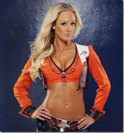Emily M Denver Broncos Cheerleader
