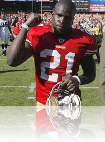 Frank Gore girlfriend Drick Parrish picture