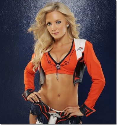 Heather Denver Broncos Cheerleader