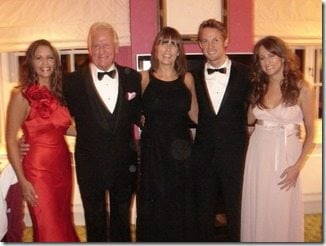 Jenson Button family photo