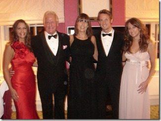 Jenson Button family photo