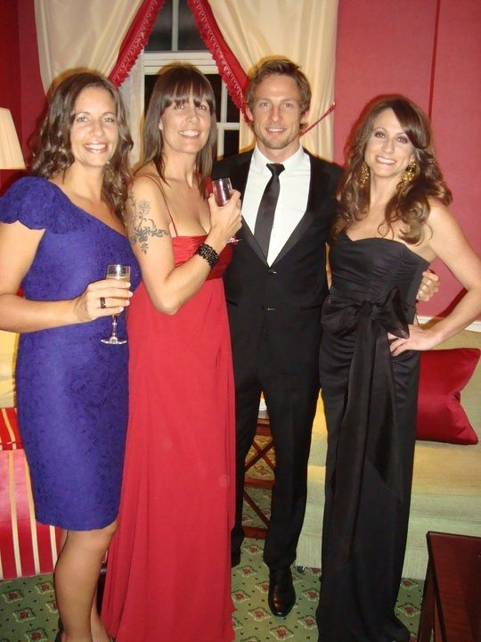 Photo of Jenson Button & his  Sister  Tanya Button