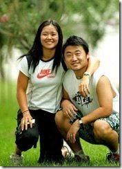 Jiang Shan  Li Na husband picture