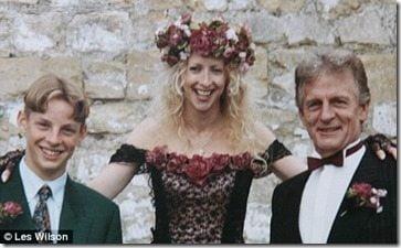 John Button  second wife Pippa Kerr