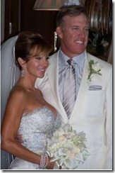 John Elway Paige Green wedding photo