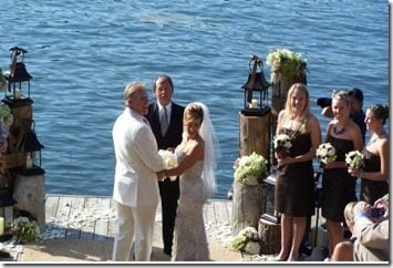 John Elway Paige Green wedding pic