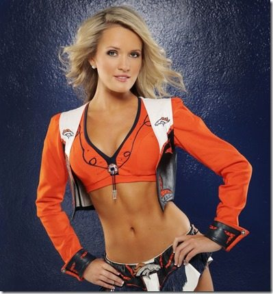 Kate Denver Broncos Cheerleader