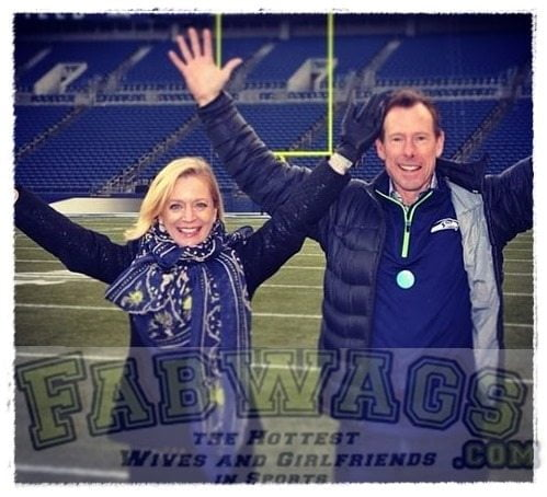 Kelly McLoughlin- Seattle Seahawks' President Peter McLoughlin's Wife